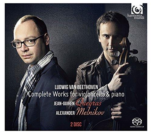 ベートーヴェン : チェロとピアノのための作品全集 (Ludwig Van Beethoven : Complete Works for violoncello & piano / Jean-Guihen Queyras | Alexander Melnikov) [2SACDシングルレイヤー] [日本語帯・解説付]