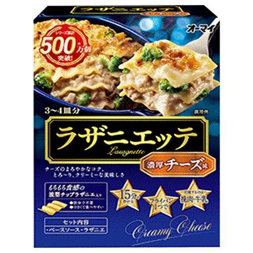 日本製粉 オーマイ ラザニエッテ 濃厚チーズ味 300g×6箱入×(2ケース)