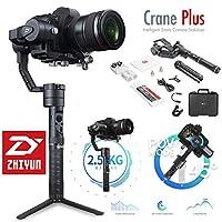 ZHIYUNクレーンプラス(CRANE V2アップグレードVer 2018)3軸ハンドヘルドジンバルカメラスタビライザー
