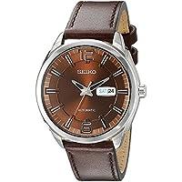 [セイコー]Seiko 腕時計 Recraft Automatic Brown Dial Brown Leather Men's Watch メンズ SNKN49 [並行輸入品]