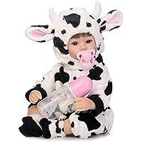 リボーンベビードール 抱き人形 シリコーン ビニール 40cm バービー 着せ替え人形 ままごと 子供玩具 可愛い ベビーケア シリコン 誕生日 プレゼント Hillrong