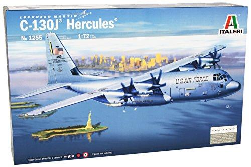 イタレリ 1255 1/72 ロッキード C-130J ハーキュリーズ(写真資料集付)