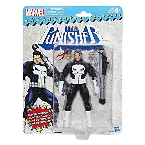ハズブロ マーベルレジェンド 6インチ アクションフィギュア スーパーヒーローズ ビンテージ : パニッシャー(並行版)