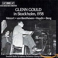 グレン・グールド・イン・ストックホルム(1958) (2CD) [Import]