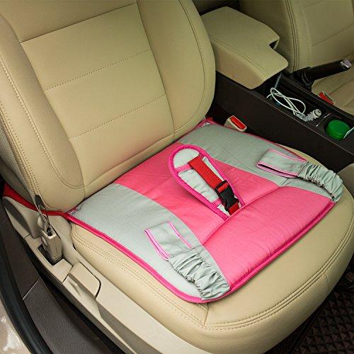 HQQN 妊娠用 マタニティーシートベルト お母さんと赤ちゃんをしっかりガード ピンク
