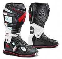 FORMA ( フォーマ ) ブーツ TERRAIN TX BLACK WHITE RED 42 ( 26.5cm ) TERRAIN TX