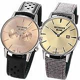 [ウォッチメーカー ミラノ]Watchmaker Milano 腕時計 メンズ Bauscia Crono バウーシャ クロノ WM.0BC.04とAmbrogio アンブロジオWM.00..