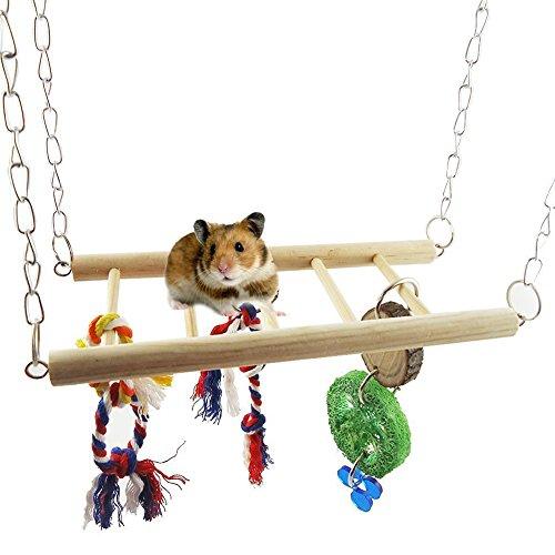 [해외](라부인 가족) Loving family 햄스터 잉꼬 장난감 현수교/(Love In Family) Loving family Hamster Inco Toy Suspension Bridge