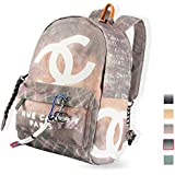 CHANEL Nouveauté バックパック キャンバス アウトドア リュック カジュアル リュックサック 通勤 通学 大容量 多機能 レディース backpack