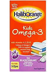 Haliborange Omega 3 Fish Oil Blackcurrant 90 capsule / Haliborange???3????????????????90????