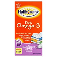Haliborange Omega 3 Fish Oil Blackcurrant 90 capsule / Haliborange???3????????????????90????