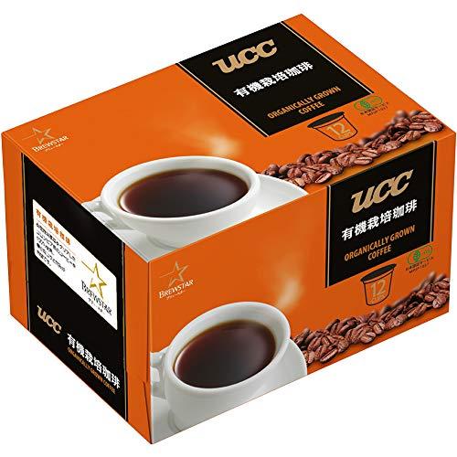 Kカップ UCC ブリュースター 有機栽培珈琲 1箱(12個)
