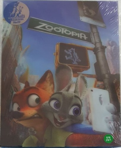 ZOOTOPIA (3D / 2D Blu-ray Steelbook KimchiDVD Lenticular Slip Box + Booklet + Cards; Region-Free) [Kimchi Exclusive SOLD