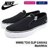 (ナイキ) NIKE スニーカー ユニセックス ウーマンズ トキ スリップ キャンバス Black/White 28cm(US11)