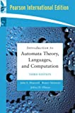 Cover of Introduction to Automata Theory, Languages, and Computation: International Edition