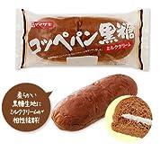 ヤマザキ コッペパン 黒糖 ミルククリーム 山崎製パン横浜工場製造 135g ×3個