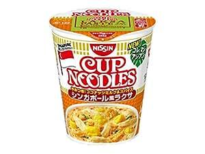 日清食品 カップヌードル シンガポール風ラクサ 81g×12個
