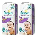 【ケース販売】 パンパース オムツ テープ  はじめての肌へのいちばん M(6~11kg) 96枚 (48枚×2パック)