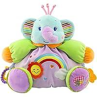youngate Infant Chileren Rattle Elephant人形ソフトぬいぐるみおもちゃギフトTeether