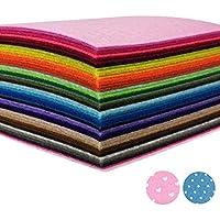 カラーフェルト AZAKBL 柔らか 羊毛フェルト 42色 30x30cm 厚さ1.4mm 手芸 材料 手作り ハンドメイド