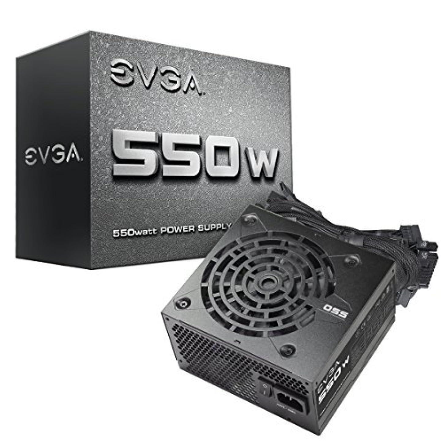 倒産スリットリッチEVGA 550N1, 550W, 2 Year Warranty, Power Supply 100-N1-0550-L1 [並行輸入品]