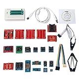 Signstek オリジナルTL866AユニバーサルMiniproプログラマー+21アダプタ+ ICクリ ップクランプAVR PIC BIOS51 MCUのFlash EPROMプログラマ