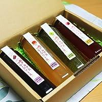 フルーツソース 4本セット 山梨南アルプス産の果物を贅沢に使用
