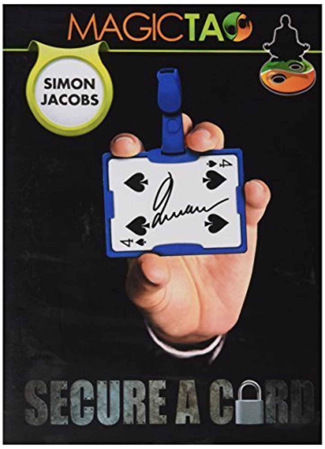 MMS Secure a Card Simon Jacobs and Magictao Trick Kit, Blue by Murphy's Magic Supplies Inc. [並行輸入品]