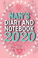 Nan's Diary and Notebook 2020