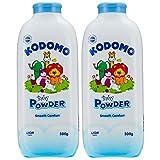 Kodomo Baby Powder Twinpack, 500g, (Pack of 2)