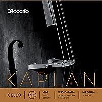 D'Addario ダダリオ チェロ弦 Kaplan Set KS510 4/4M Medium Tension 【国内正規品】