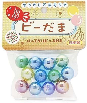 オンダ なつかしのおもちゃ ビーだま 12個入り 日本製