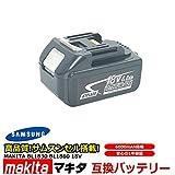 マキタ makita バッテリー リチウムイオン電池 BL1830 BL1860 対応 大容量 6000mAh 互換18V 工具用バッテリー 高品質 サムソン サムスン 製 セル採用
