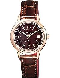 [シチズン]CITIZEN 腕時計 xC クロスシー LIGHT in BLACK エコ・ドライブ電波時計 日中欧米電波対応 EC1147-01X レディース