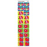トレンド ごほうびシール ニコニコ リンゴ 100片 Trend Applause Stickers Awesome Apples T-47130