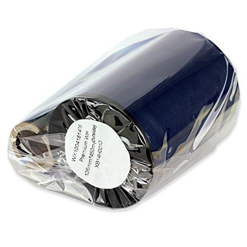 1PK OfficeSmartLabels Black 3.25 x 1476' (width x length) Enhanced Thermal Wax /Resin Ribbon for Zebra Desktop Printer S4M Z4M 105SE 105S 105SL 105SLPlus 160S S500 S600 Z4000 ZT200 ZT220 ZT230 ZT410 ZT420 ZM400 ZM600 110Xi4 140Xi4 170Xi4 220Xi4 RZ400 RZ6 [並行輸入品]