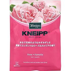 クナイプ・ジャパン クナイプバスソルト ローズ&カメリア 50g