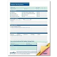ComplyRight Employee Warning Notice 3 Part Carbonless 50PK 【Creative Arts】 [並行輸入品]
