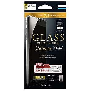 LEPLUS iPhone 6 Plus/6sPlus用 GLASS PREMIUM FILM 最薄(SCHOTT) 0.12mm LP-I6SPFGS12