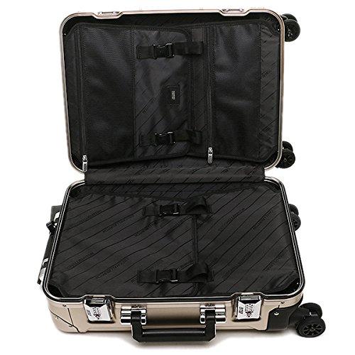 (ゼロハリバートン) ZERO HALLIBURTON バッグ ZRG219-BR 94115-08 CARRY WHEEL SPINNER TRAVEL スーツケース・キャリーバッグ ブロンズ [並行輸入品]