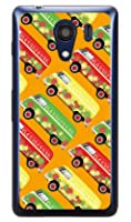 SECOND SKIN ヒッピーカー オレンジ (ソフトTPUクリア) / for Android One S2・DIGNO G 601KC/Y!mobile・SoftBank YKYAS2-TPCL-701-J080