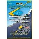 1/48 F/A-18C VFA-97 =ウォーホークス=&VFA-146 =ブルーダイヤモンズ=