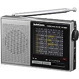 オーム ワイドFM/AM/SW ハンディ短波ラジオAudioComm OHM RAD-S520N