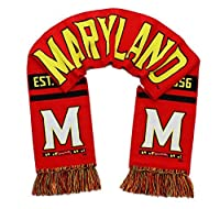 Maryland Terrapinsスカーフ–UMDメリーランド大学Woven