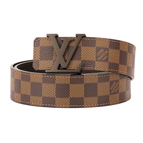 ルイヴィトン(Louis Vuitton) ダミエ エベヌ DAMIER EBENE M9807V ベルト ブラウン[並行輸入品]