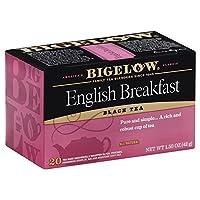 Bigelow Tea ビゲローイングリッシュブレックファースト1.18 OZ(4パック)