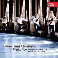Prokofiev : String Quartets Nos. 1 & 2 / Sonata for Two Violins ~ Pavel Haas Quartet (2010-01-26)