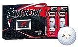 DUNLOP(ダンロップ) ゴルフボール SRIXON Z-STAR XV ゴルフボール 2019年モデル 1ダース(12個入り) プレミアムホワイト