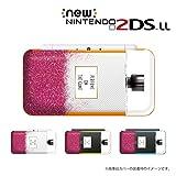 New ニンテンドー 2DS LL 対応 カバー ケース 香水 perfume ピンク色 メタルキャップ