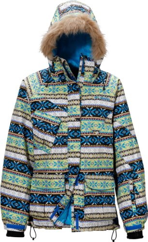 (コロンビア)Columbia Women's Segovia Jacket PL2622-F11 492 492 Compass Blue Ethnic M